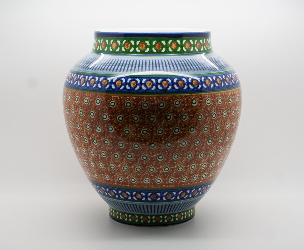 VILLEROY & BOCH Decorated Art Earthenware Vase - Mollaris.com