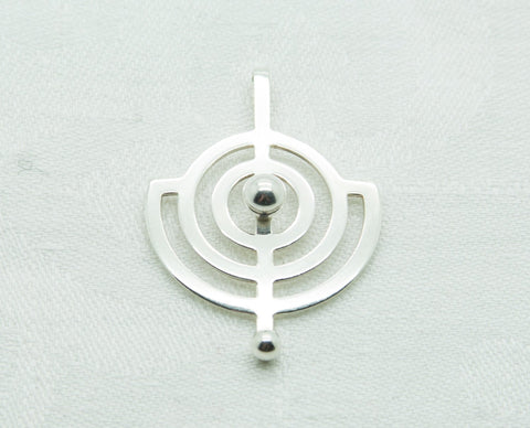 WILLY WINNAESS Modernist Planet Solid Silver (830S) Pendant - Mollaris.com