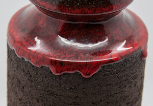 LEHMANN Red Drip Glazed Ceramic Vase - Mollaris.com