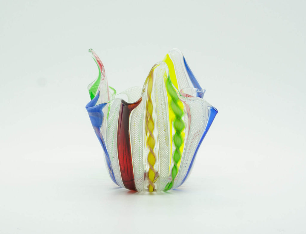 Zanfirico FAZZOLETTO Small Studio Art Glass Vase - Mollaris.com