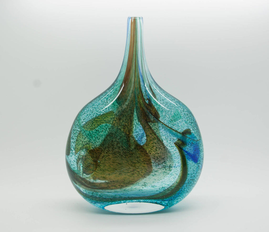 Johansfors BENGT ORUP Large Spontana Bottle Glass Vase - Mollaris.com