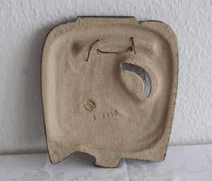 NOOMI BACKHAUSEN Søholm Abstract Bird Design Stoneware Wall Plaque - Mollaris.com