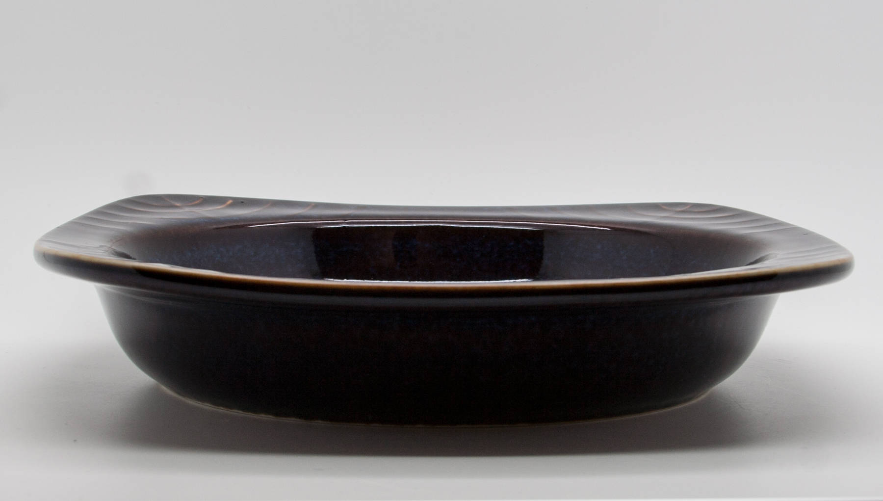 Rörstrand CARL HARRY STÅLHANE Blue Harefur Glazed Stoneware Bowl Tray - Mollaris.com