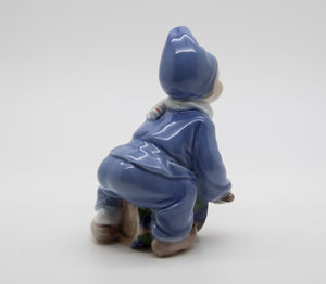 Royal Copenhagen Decorated Porcelain Little Drummer Boy Figurine # 148 - Mollaris.com