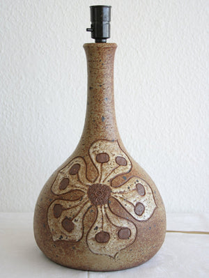 METTE LØKKE STIIL Large Studio Organic Design Stoneware Table Lamp - Mollaris.com