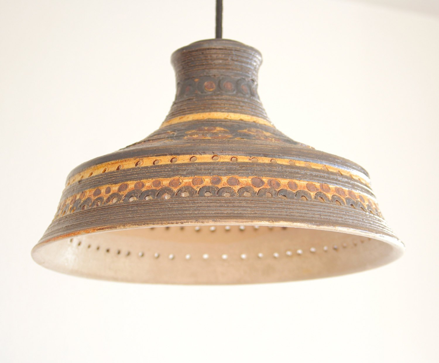 JETTE HELLERØE Heart Decorated Ceramic Pendant Light - Mollaris.com