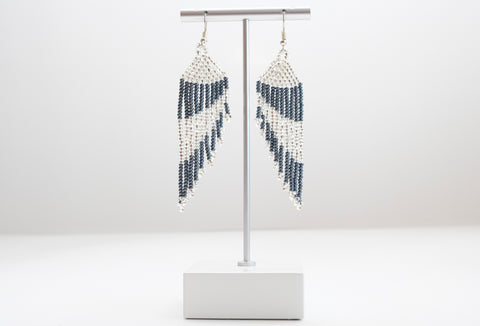 Huichol Long Earrings