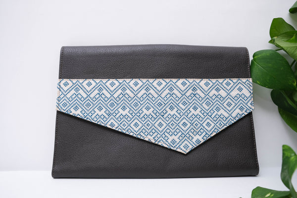 Diamond Leather Purse