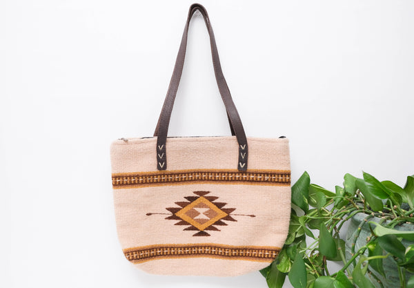 Wool Tote Bags with Design-Medium