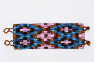 Huichol Bracelets with Designs