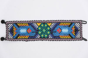 Huichol Bracelets with Nature Designs