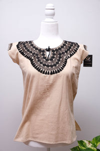 Manta Blouse with Embroidery-XS