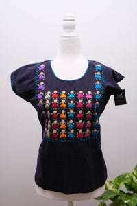 Manta Blouse with Embroidery-S