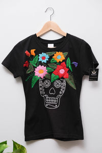 Embroidered T-shirt- S