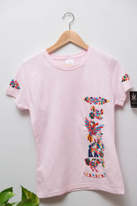 Embroidered T-shirt- M