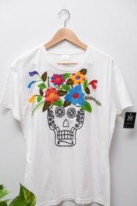 Embroidered T-shirt- XL