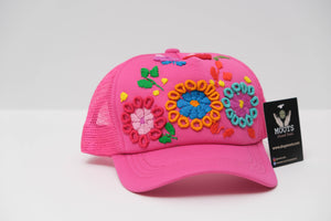 Hat with embroidery