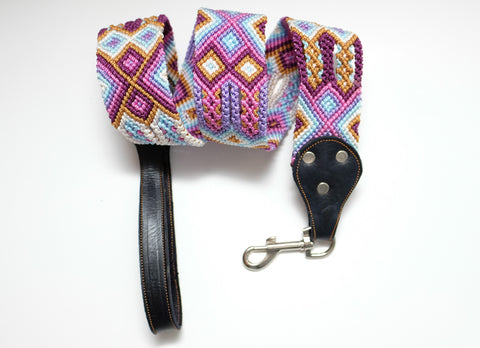 Mexican Colors Dog Leashes-Thick