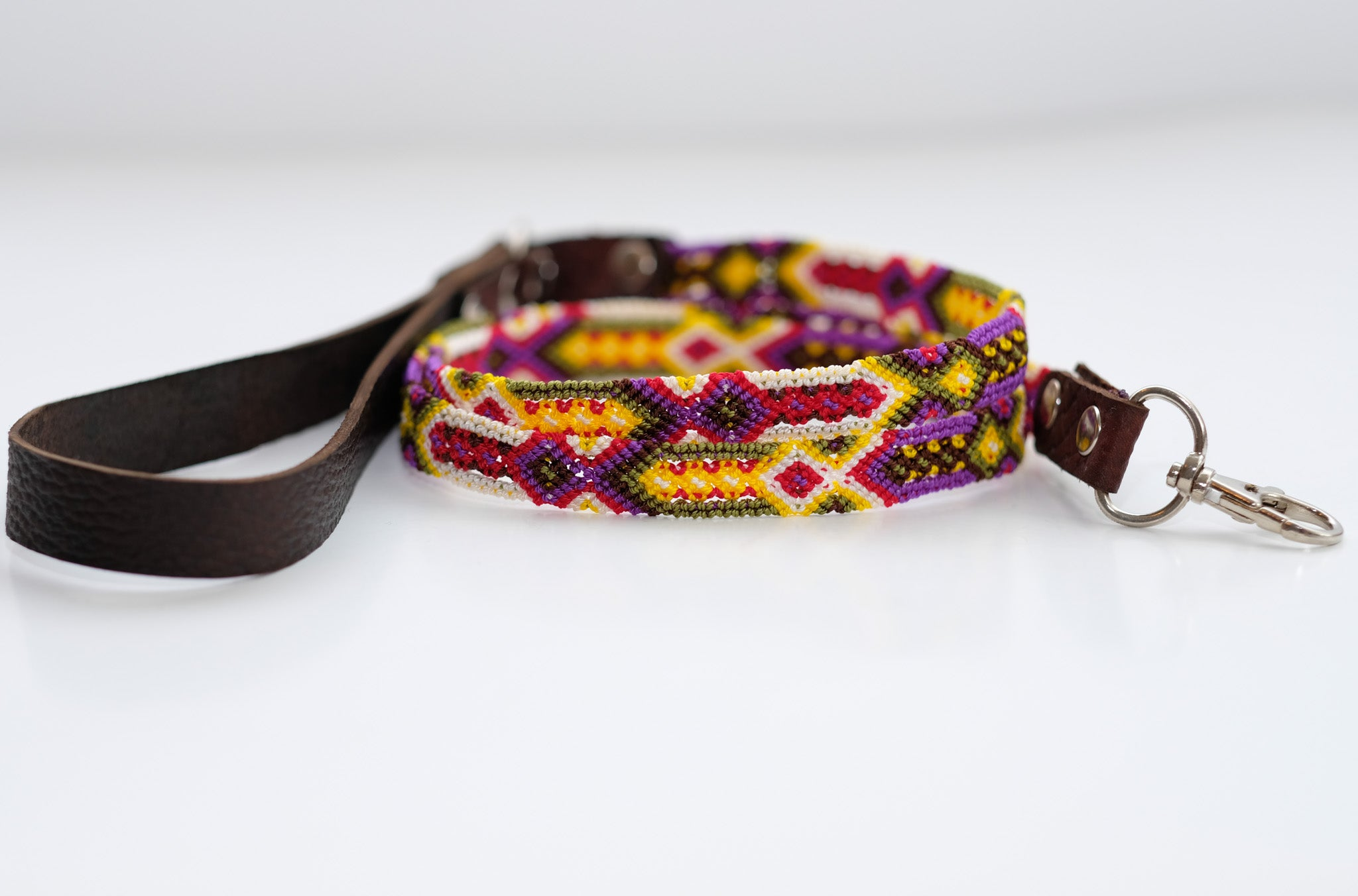 Mexican Colors Dog Leashes-Thin