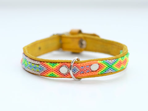 Mexican Colors Dog Collars-Small