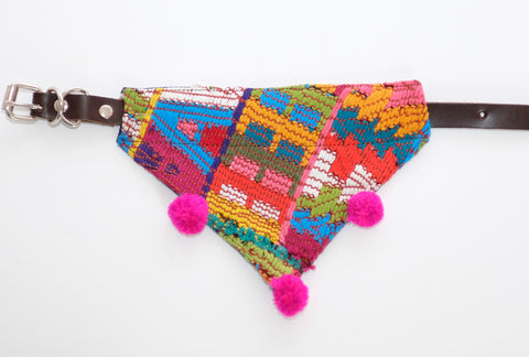 Mexican Colors Dog Bandanas-Small