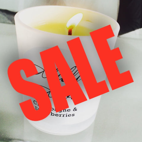 SALE - 200ml White Candle