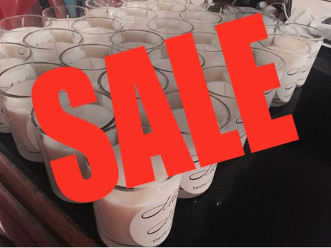 SALE - Clear Glass