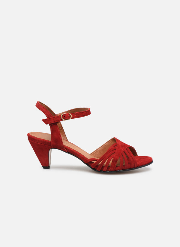 HERMINE SUEDE - RED LOLLIPOP