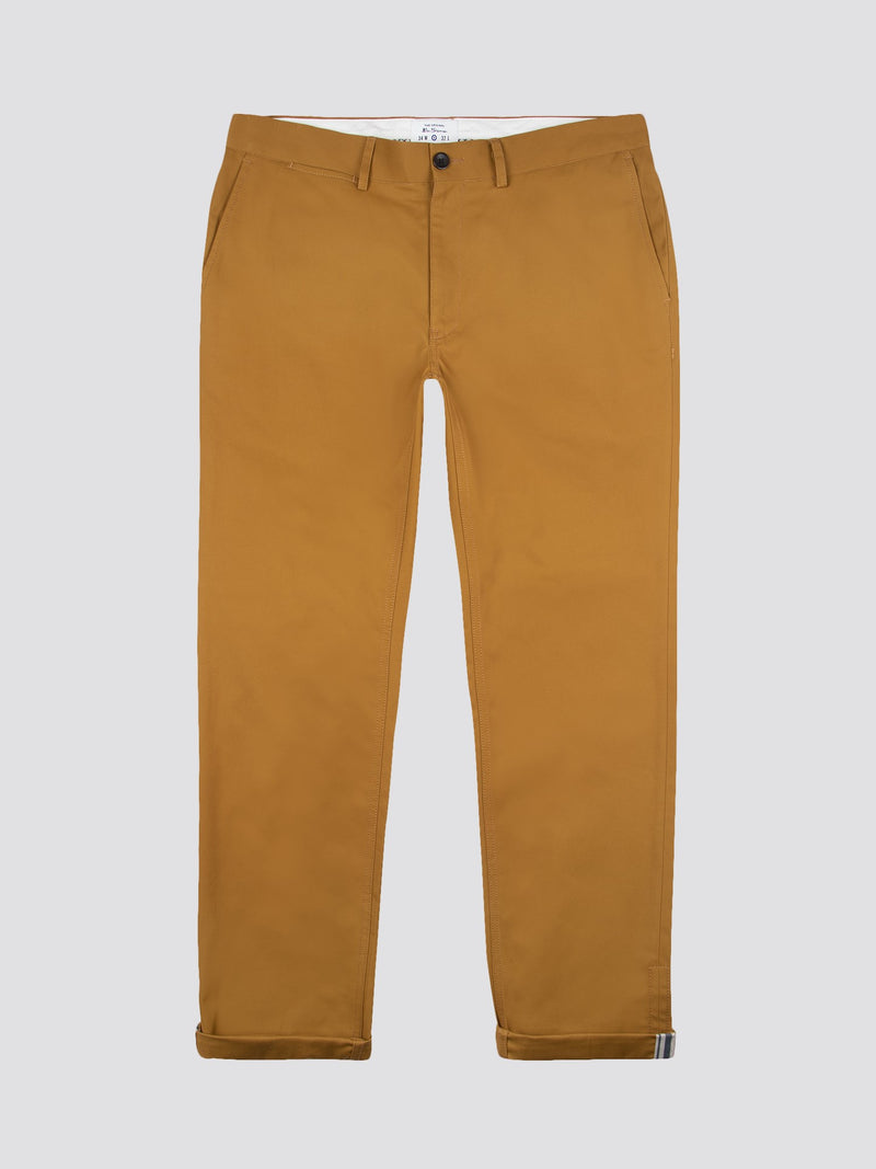 SLIM STRETCH CHINO - GOLD