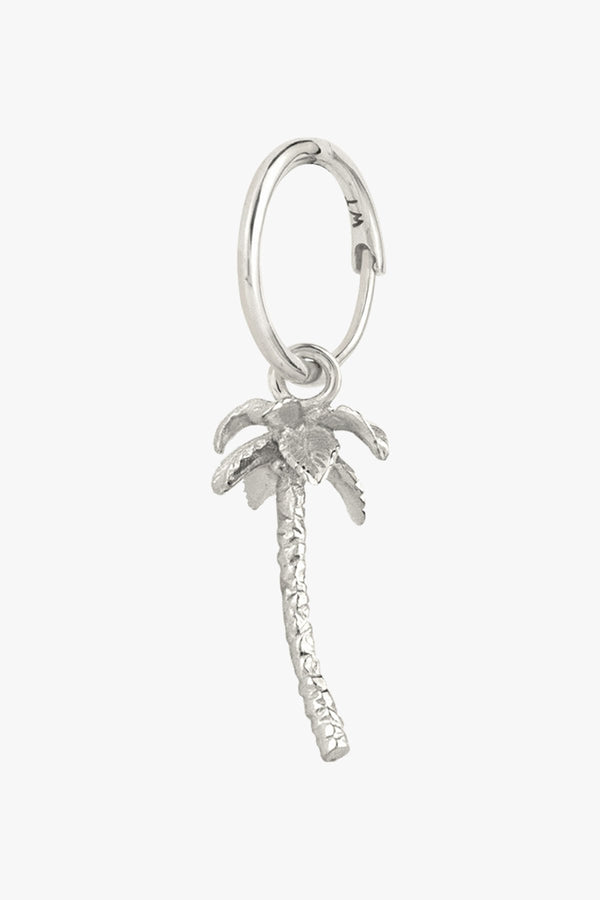 PALM TREE EARING - SILVER
