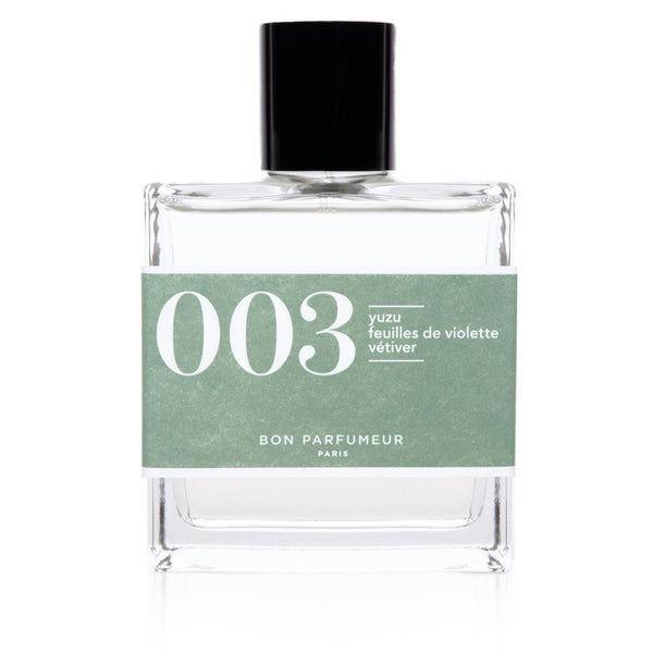 EAU DE PARFUM 003: YUZU / VIOLET LEAVES / VETIVER