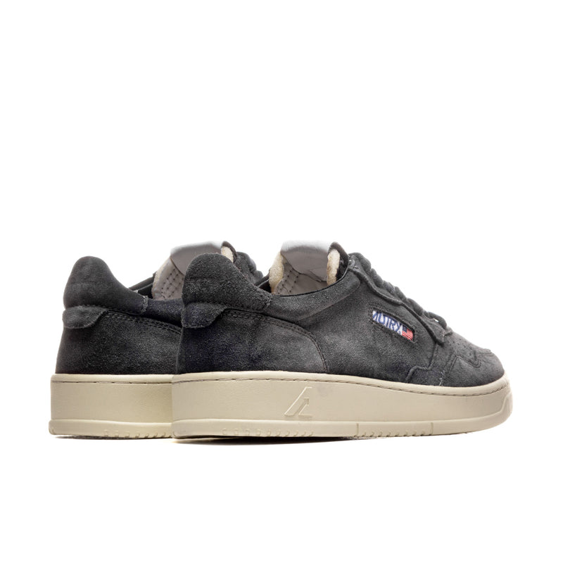 AUTRY AULM SS05 LOW MAN - SUEDE/SUEDE BLACK