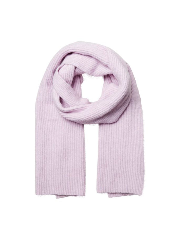 LINNA KNIT SCARF - FAIR ORCHID PURPLE
