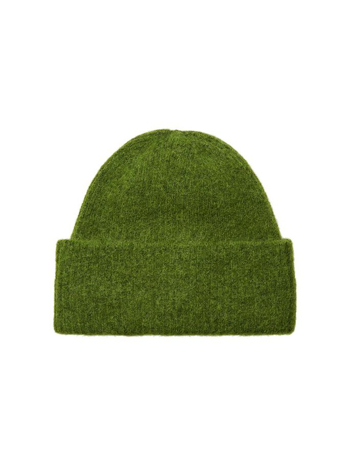 LINNA KNIT BEANIE - TWIST OF LIME