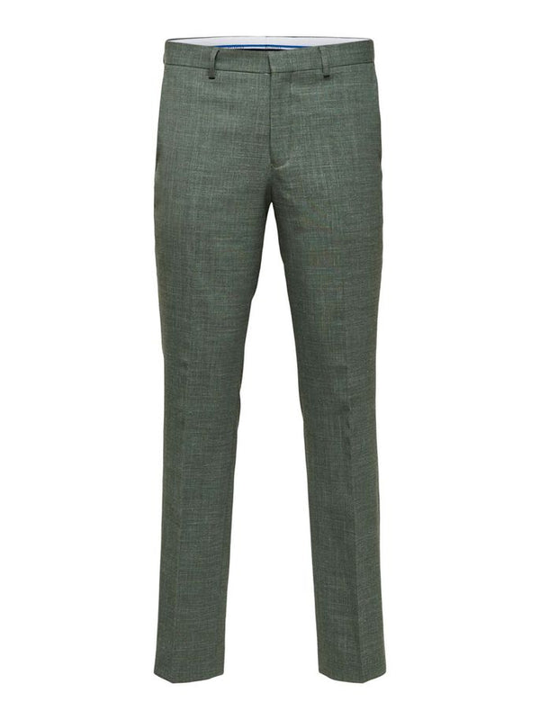 SLIM OASIS TROUSERS - GREEN