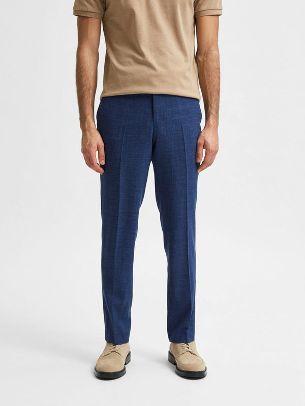SLIM OASIS TROUSERS - BLUE
