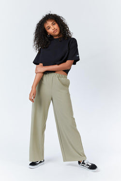 BELL PANTS - GREEN AGATE