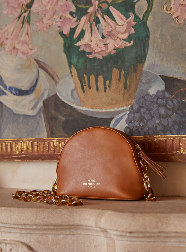 CHIMENE  BAG - COGNAC