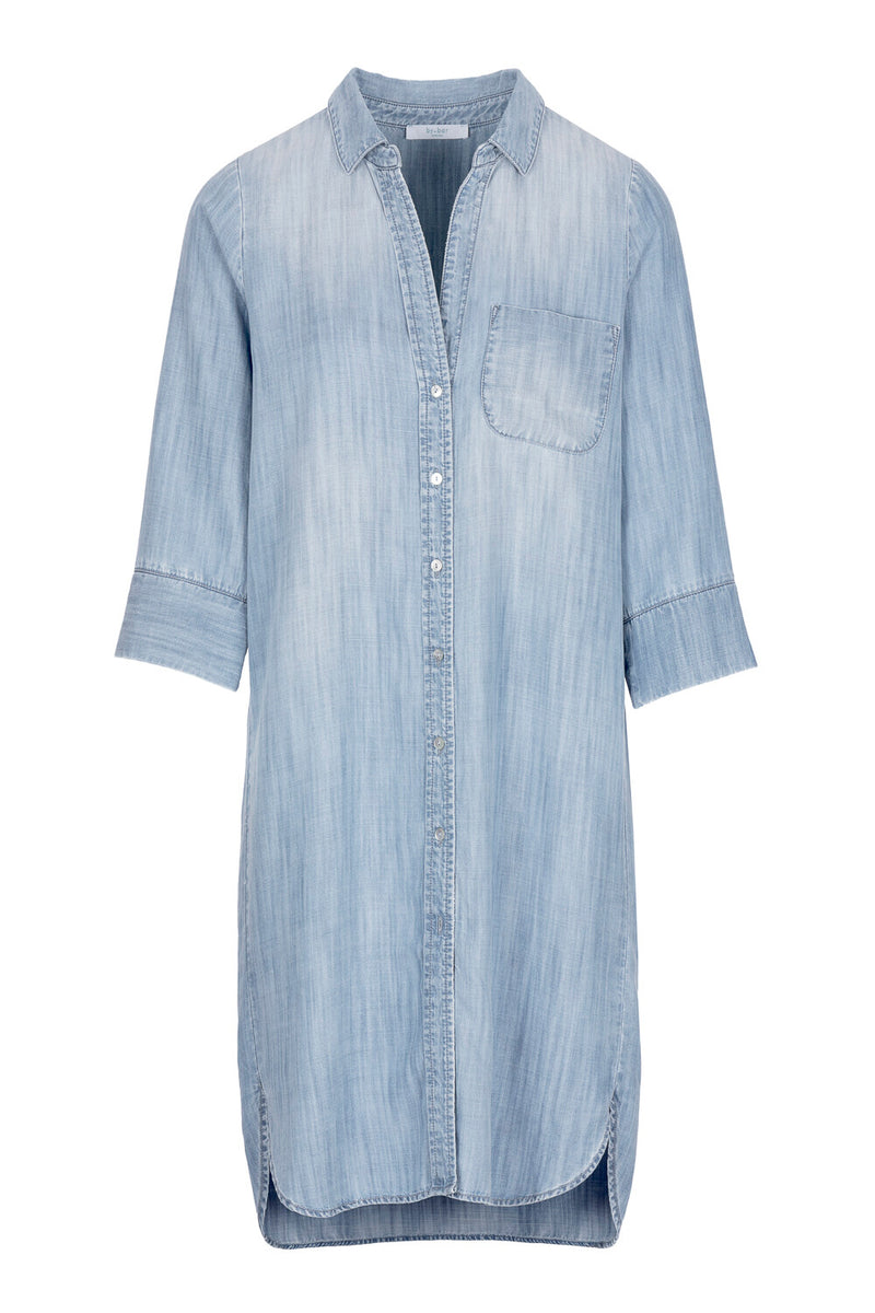 ZOE DENIM DRESS - LIGHT DENIM