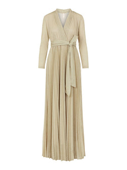 MORTIMER MAXI DRESS - PEARLED IVORY