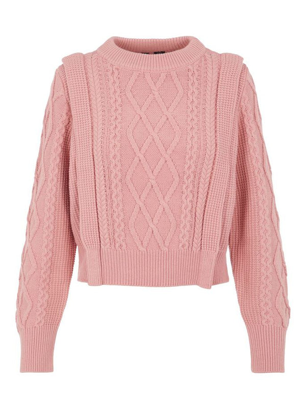 BLESHA LS KNIT - BLUSH