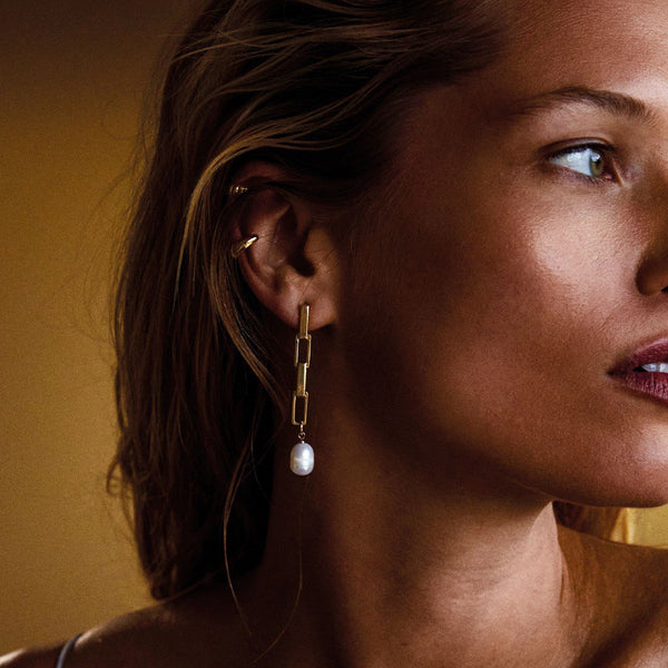 COLOMBA EARRINGS  - GOLD PLATED