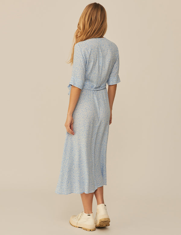 SHUBIE DRESS - BLUE PRINT