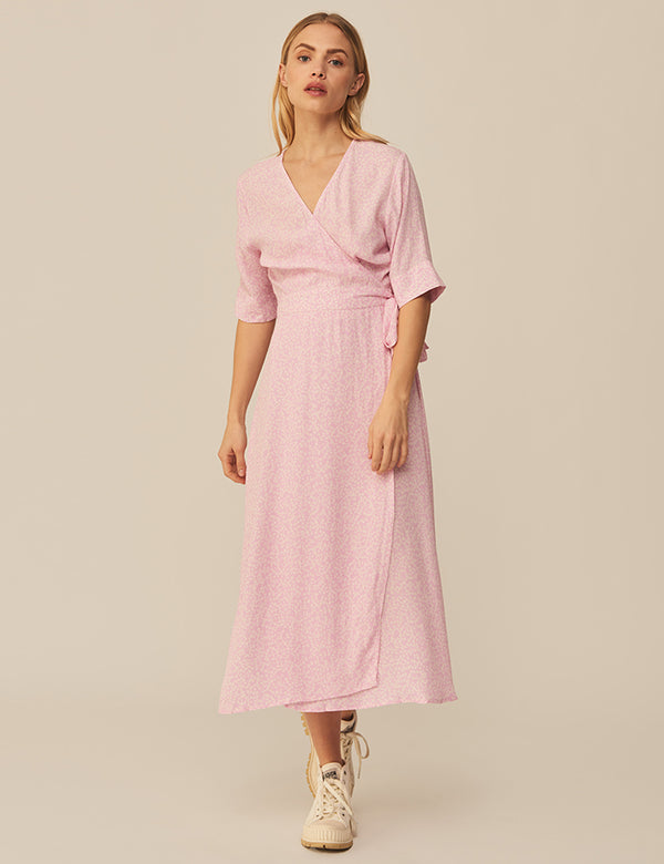 SHUBIE DRESS - PINK PRINT