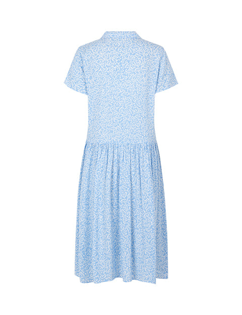KASSIANI DRESS - BLUE PRINT
