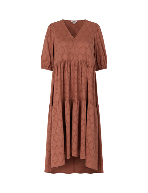 AMORY MINERVA DRESS - CEDAR WOOD