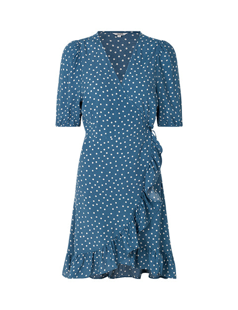 MAOUI DRESS - MONTOYA BLUE