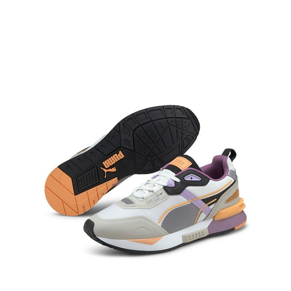 MIRAGE TECH SNEAKER - WHITE-GRAY/VIOLET