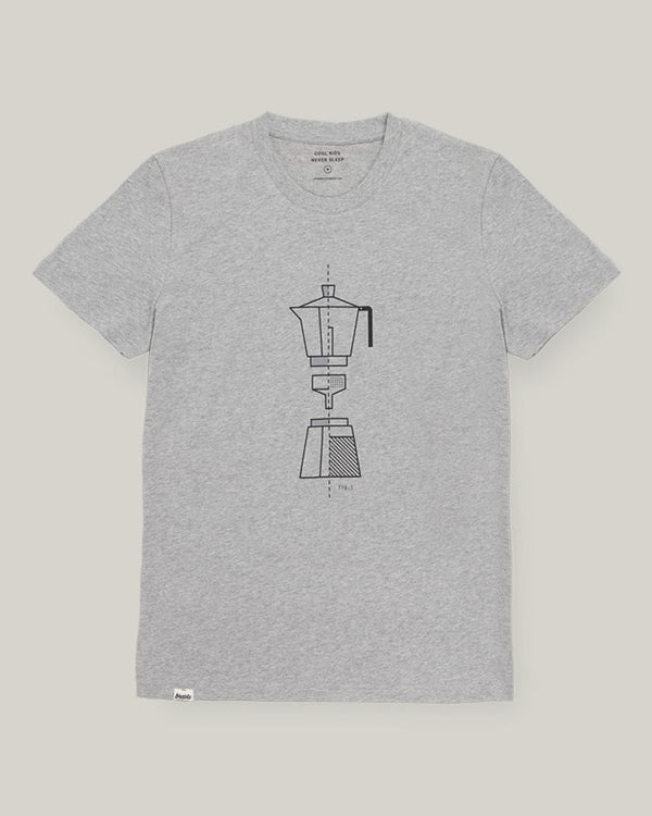 HOW TO MOKA TEE - GREY