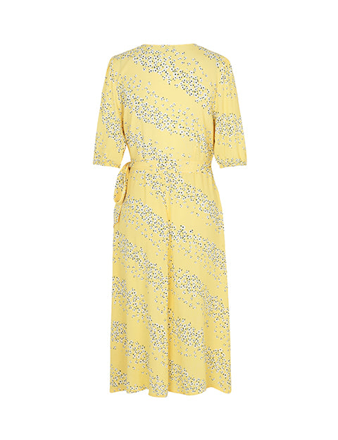 ANGELO DRESS - YELLOW PRINT